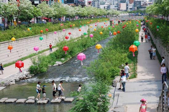 Suối Cheoggyecheon