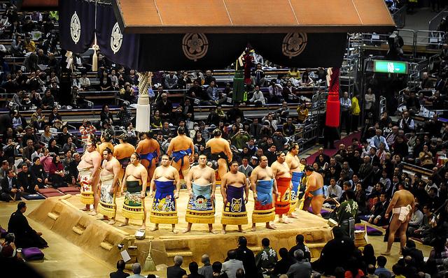 Khám phá môn đấu vật Sumo truyền thống