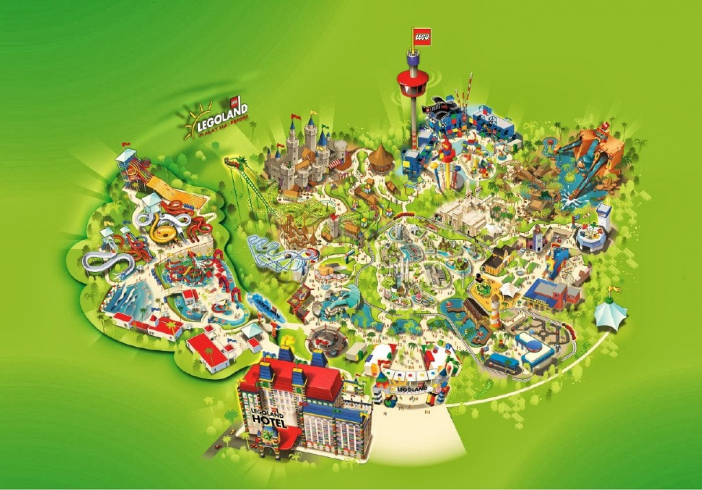 Khám phá công viên nước Legoland