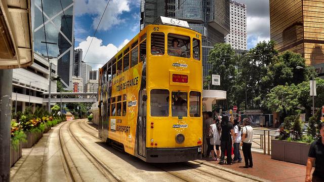Phương tiện giao thông công cộng ở Hồng Kông