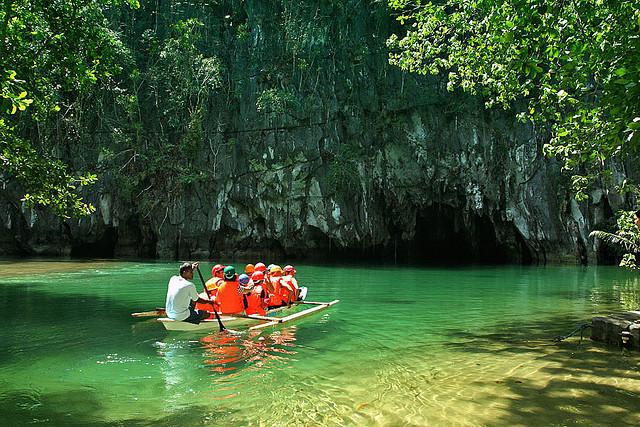 Khám phá vẻ đẹp sông ngầm Puerto Princesa
