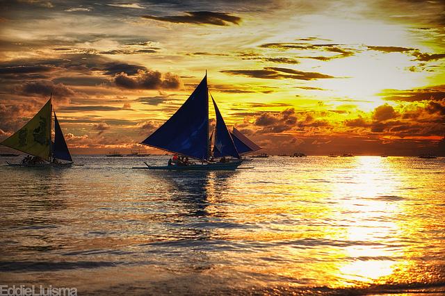 Chiêm ngưỡng Boracay với thuyền buồm Paraw