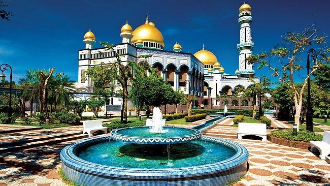 Khám phá sự giàu có của vương quốc Brunei