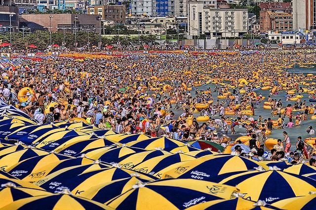Haeundae - bãi biển tuyệt vời ở Busan