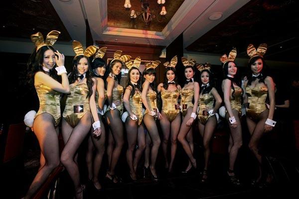 Hộp đêm Playboy hoành tráng tại Macao