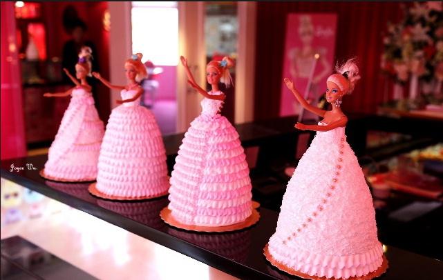 Barbie Cafe siêu dễ thương ở Đài Bắc