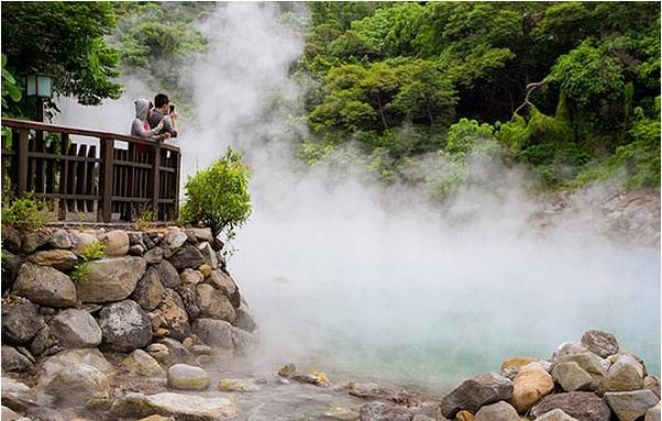 5 suối nước nóng nổi tiếng tại Đài Loan