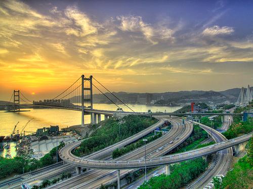Cầu treo Thanh Mã nổi tiếng xứ cảng thơm