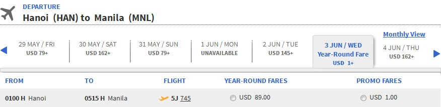 Du lịch hè với vé máy bay đi Manila chỉ 1 usđ