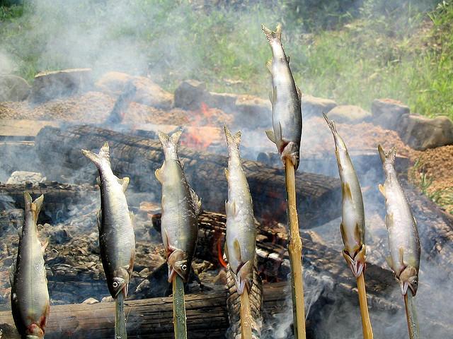Món cá Ayu - vị ngon của sự tinh khiết