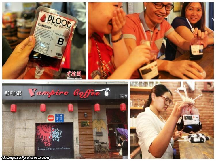 Ấn tượng quán cafe Ma cà rồng ở Trung Quốc