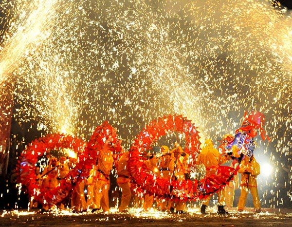 Lễ thả đèn trời đẹp kỳ ảo ở Đài Loan