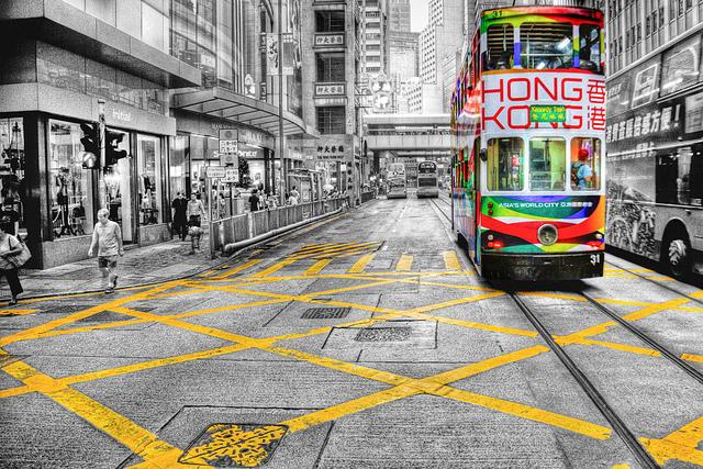 Kinh nghiệm đi tàu điện ở Hồng Kông