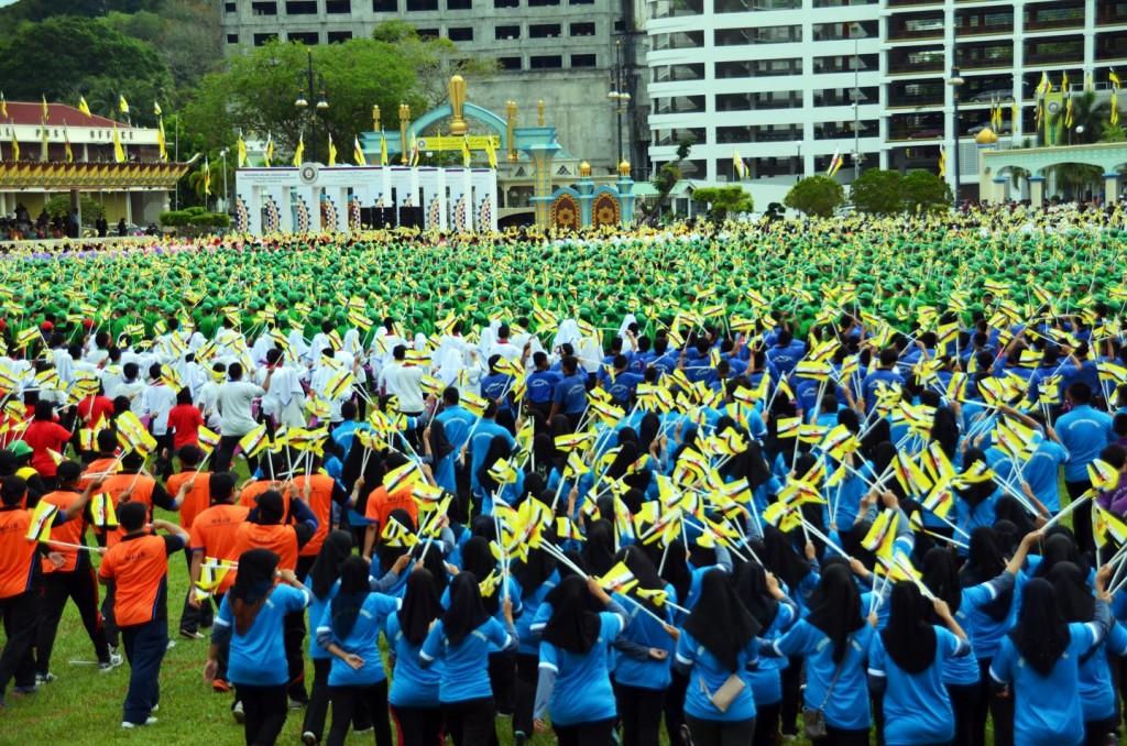 Tận hưởng lễ quốc khánh tưng bừng của Brunei