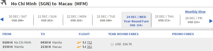 Mua vé máy bay đi Macao rẻ nhất ở đâu?