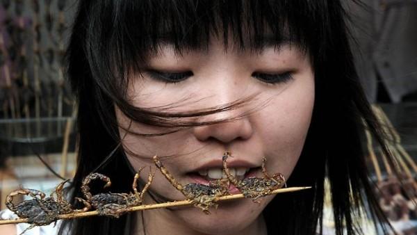 Bạn có dám thử đặc sản côn trùng ở Thái Lan