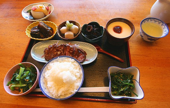 bữa ăn Obanzai ryori