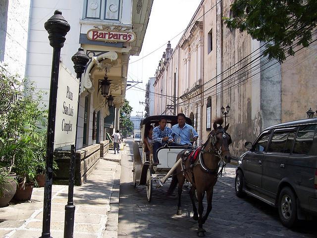 thành cổ Intramorus đi ngựa