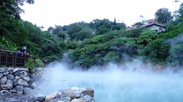 Suối nước nóng Cốc quan Đài trung
