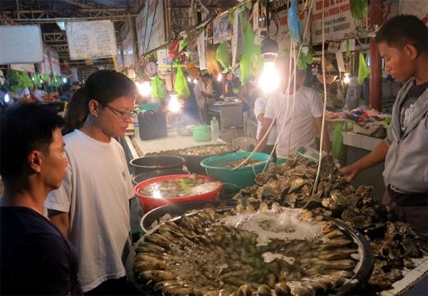 Chợ hải sản ở Boracay