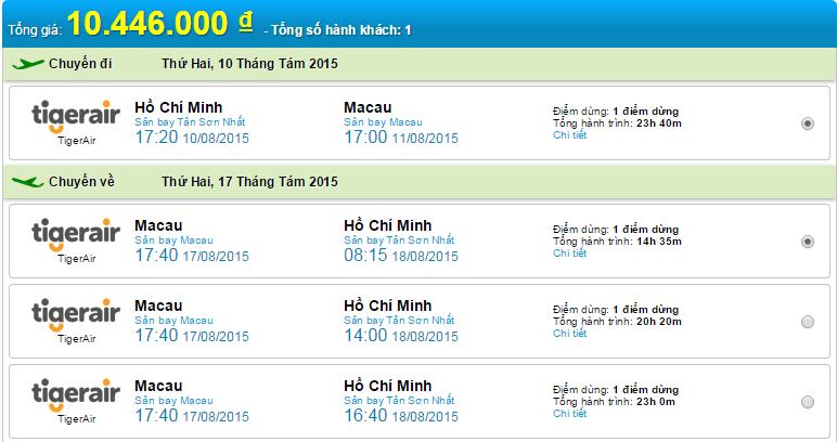 HCM-Macao
