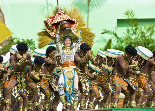lễ hội Sinulog cebu