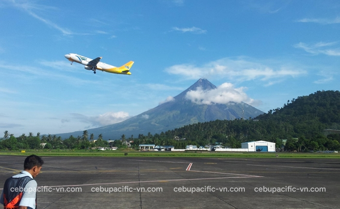 Tìm hiểu sân bay Legazpi Philippines