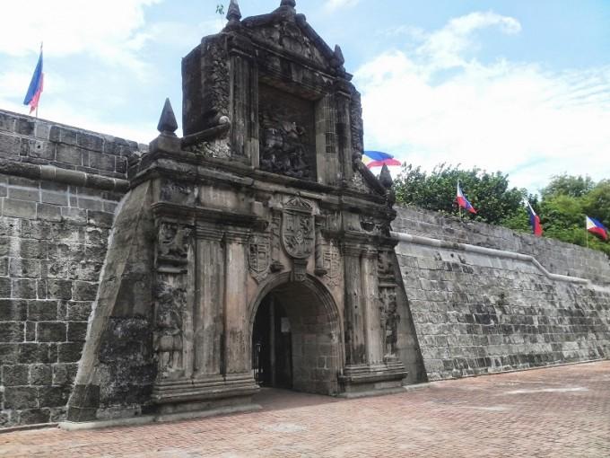 pháo đài Santiago1