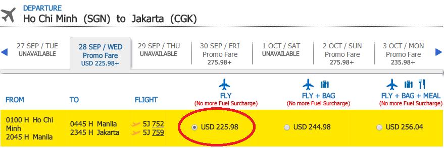 HCM-Jakarta t9 cebu