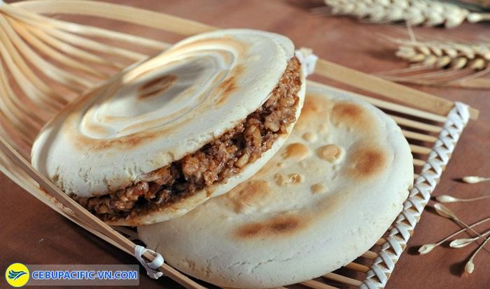 Bánh burger Tây An (roujiamo)