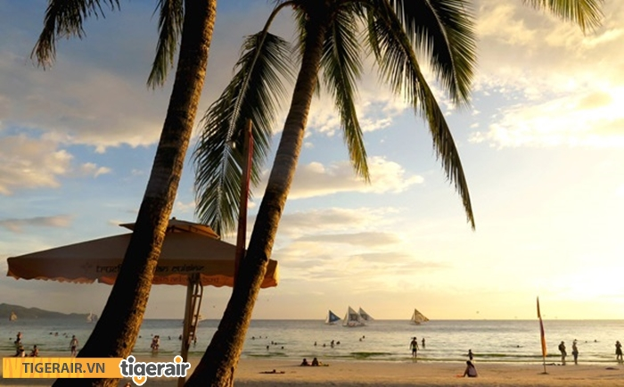 Bình minh trên đảo Boracay