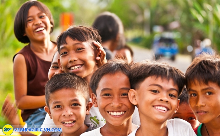 Con người Philippines thân thiện