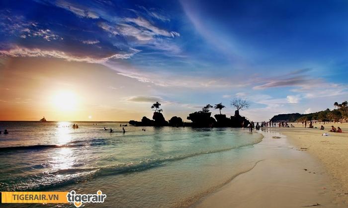 Hoàng hôn ở Boracay