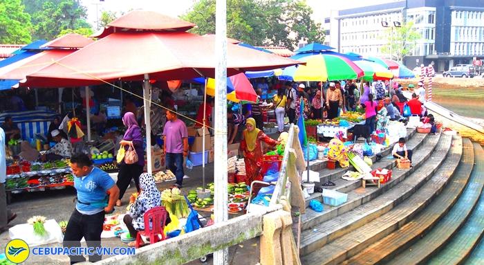 Khu chợ Kg Kianggeh