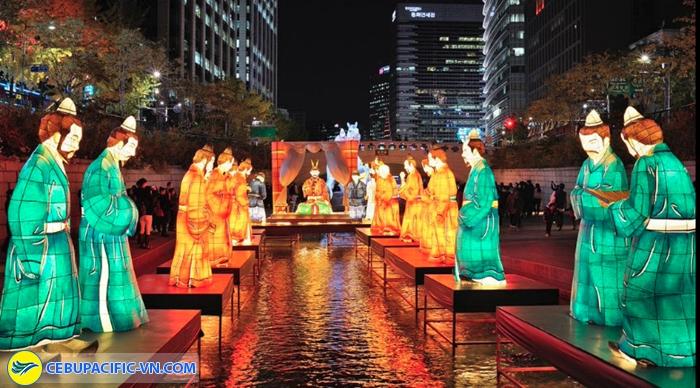 Lễ hội đèn lồng suối Cheonggye-cheon