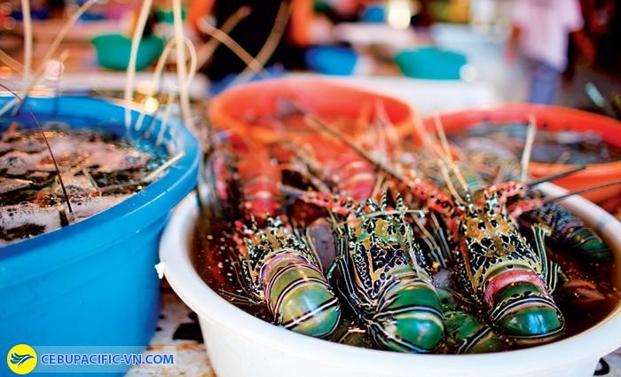 Hải sản tươi ngon ở Boracay