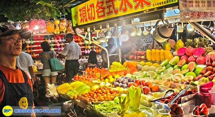 chợ đêm Đài Bắc