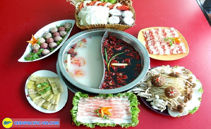 Lẩu cay Thành Đô
