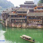 kiến trúc cổ Phượng Hoàng cổ trấn
