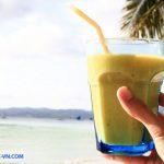 Fruit shake boracay