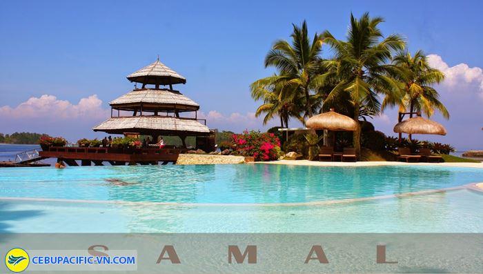 bãi biển Samal