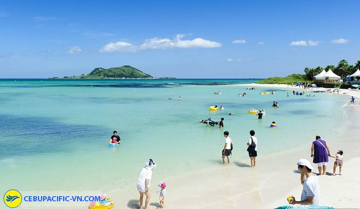 Bãi biển Haeundae ở Busan