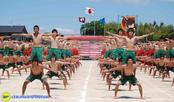 Lễ hội thể thao trường Undokai