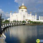 Hoàng cung Istana Nurul Iman tráng lệ