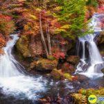 Thác Fukuroda một trong 3 thác đẹp nhất Nhật Bản