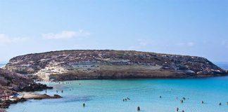 Lampedusa xanh như ngọc tại Ý