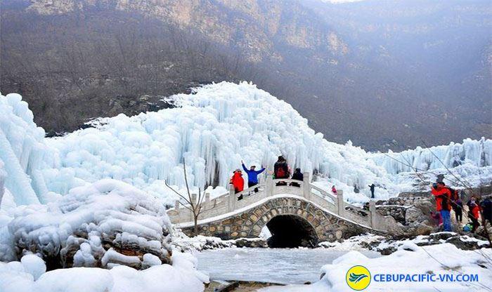Mùa đông hùng vĩ tại Trung Quốc