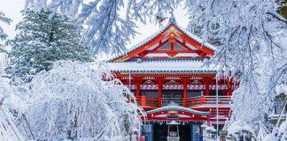 Nhật Bản quốc gia có mùa đông hấp dẫn tại Châu Á