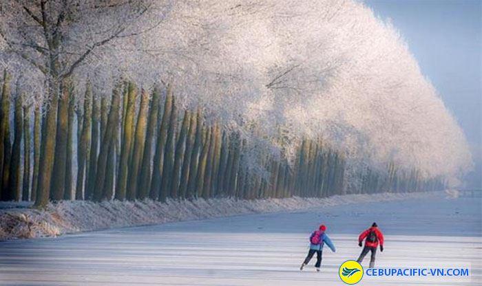 Mùa đông lãng mạn tại Hàn Quốc