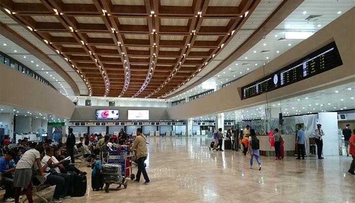 Sảnh vào sân bay quốc tế Ninoy Aquino Manila